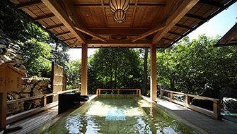 Outdoor Cypress Bath