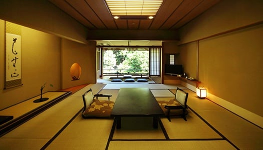 Deluxe Japanese-style Room (15 tatami mat-size / garden-side)
