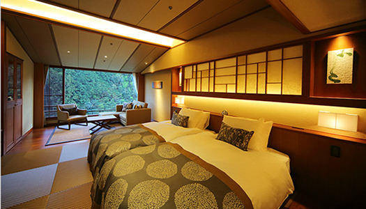 Premium Twin Room (Japanese-style twin / River-side)