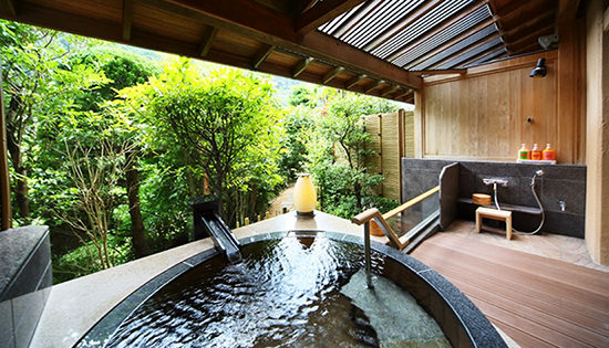 Garden Suite A with Private Outdoor Bath (Riverside)