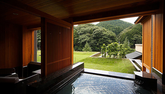 Premium Suite A with Private Outdoor Bath (Mountain-side)