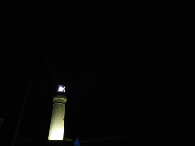 角島灯台ライトアップ
