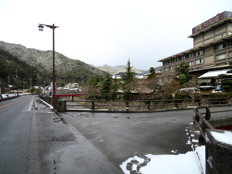 冬の大谷山荘