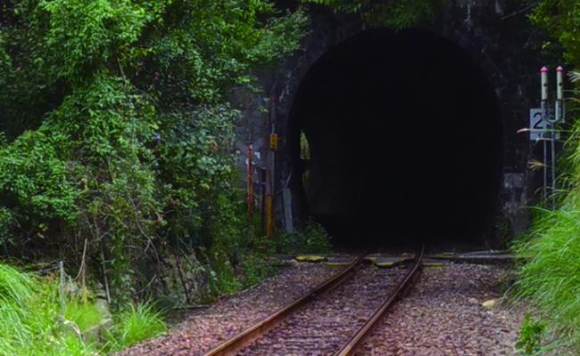 ジブリなトンネル