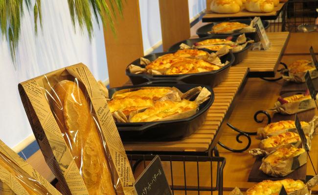 【館内情報】本日、館内で毎日焼き上げる「THE BAKERY」(ザ・ベーカリー)大谷山荘2階にオープン(12月23日)