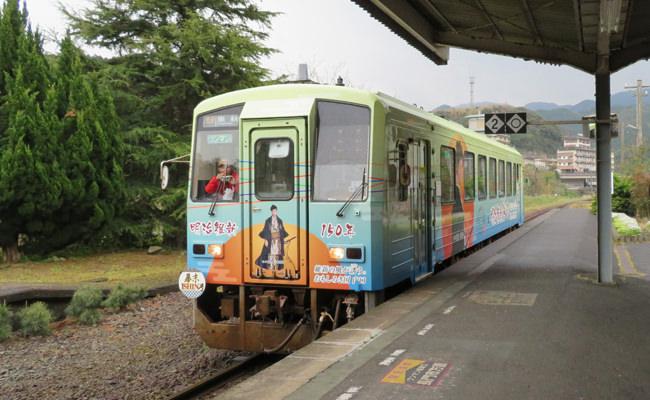 【観光・アクセス】萩観光に便利!JR臨時快速列車「幕末ISHIN」号、4月7日より土日祝運行スタート