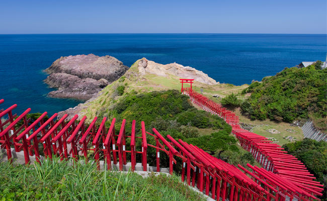 【アクセス】角島・元乃隅稲成神社にお立ち寄り「絶景満喫バス」4月運行