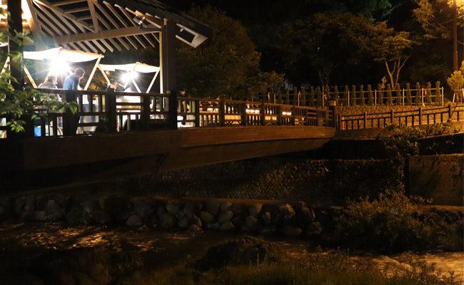 【お知らせ】夜の散歩が楽しめる季節です~5月19日開催「音信川の橋の夜」の様子