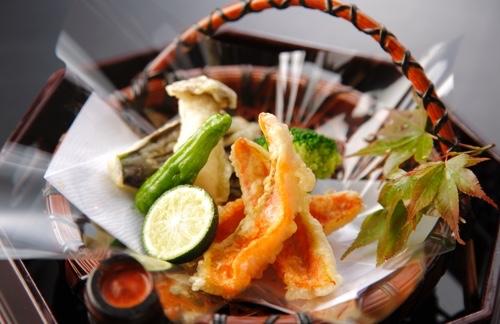 Kintaro (white fish) Tempura