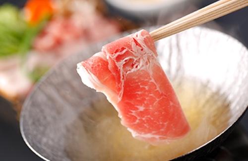 山口県産むつみ豚のしゃぶしゃぶ(50g)