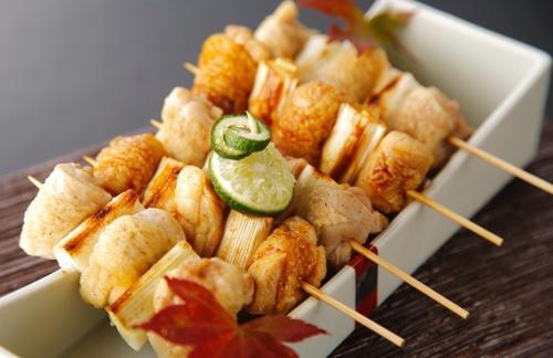 Choshu Yakitori Grilled Chicken (5 skewers)