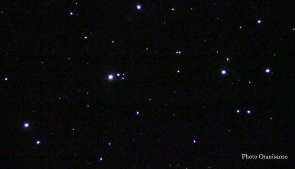 【11月の天体ドーム】肉眼でいくつ見える?プレアデス星団(すばる)の6つの星を観望