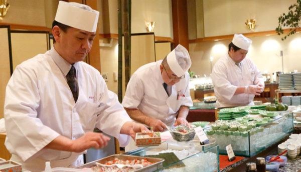 【山口の食】鮮魚の握りや和牛鉄板焼などをビュッフェで味わう「冬のグルメフェア」~1/23・24開催