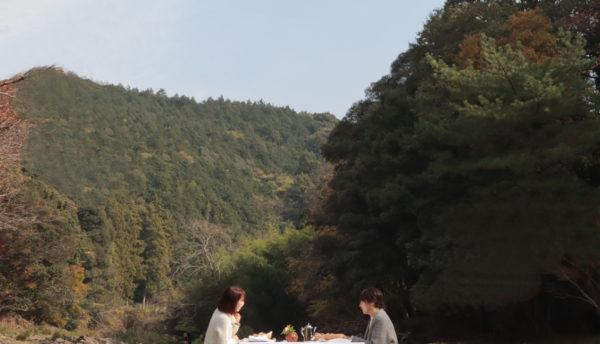【春の催し】川床へのお誘い~3月29日は湯本温泉「川床開き」。「川床カフェ」「川床会議」プランを始めます(3月30日~6月30日)
