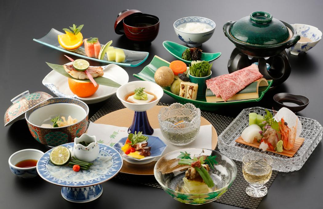 Specially Selected Seasonal Kaiseki Course