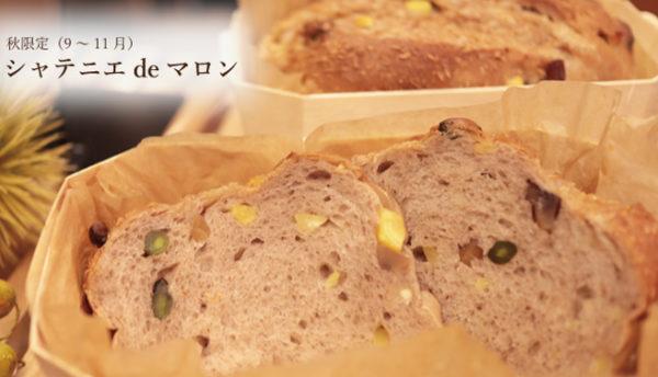 【秋限定】シャテニエペーストを贅沢に使用。「シャテニエdeマロン」で休日の朝食を華やかに(11月中旬まで)