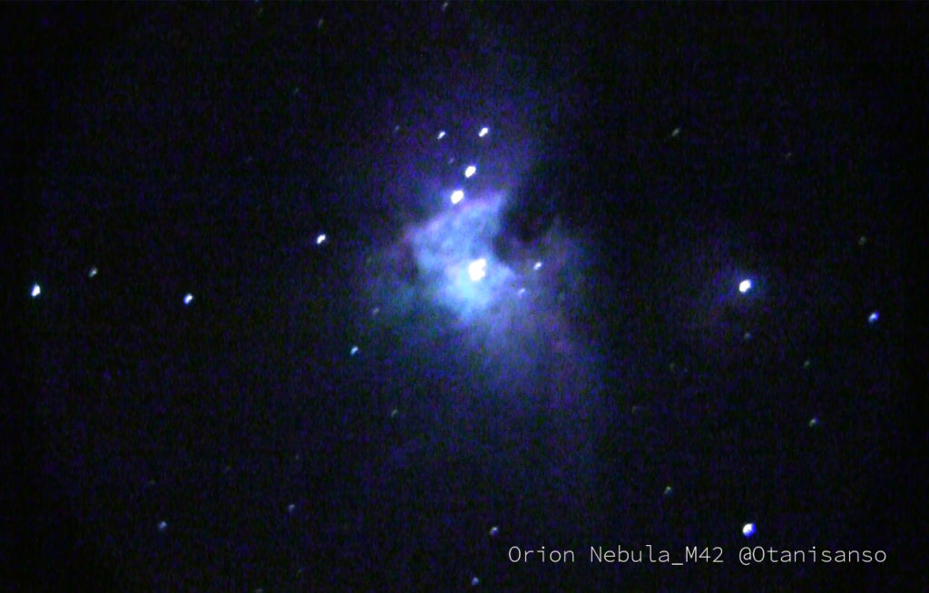【December in the Observatory】It's a Christmas celebration in the stars, too! Come enjoy observing the winter skies with the Geminids meteor shower and the Orion nebula!