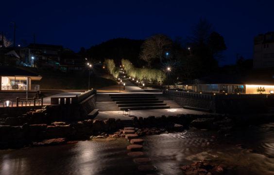 nagatoyumoto-onsen-nightview