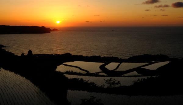 【山口観光】夕暮れから夜が美しい「東後畑棚田」(ひがしうしろばたたなだ)のご紹介。