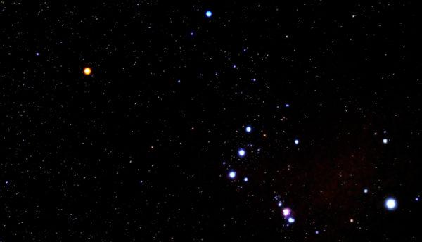 【1月の天体ドーム】シリウス、リゲル、ベテルギウスなど、冬の夜空を繋ぐ一等星に注目です。