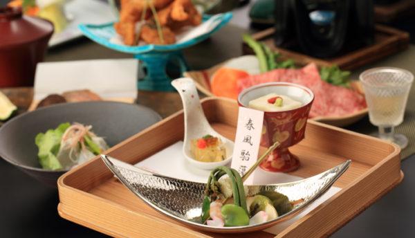 【山口の食】芽吹きの季節を彩る筍やわらび、北浦の海から届く春を味わう会席のご案内(3月~5月)