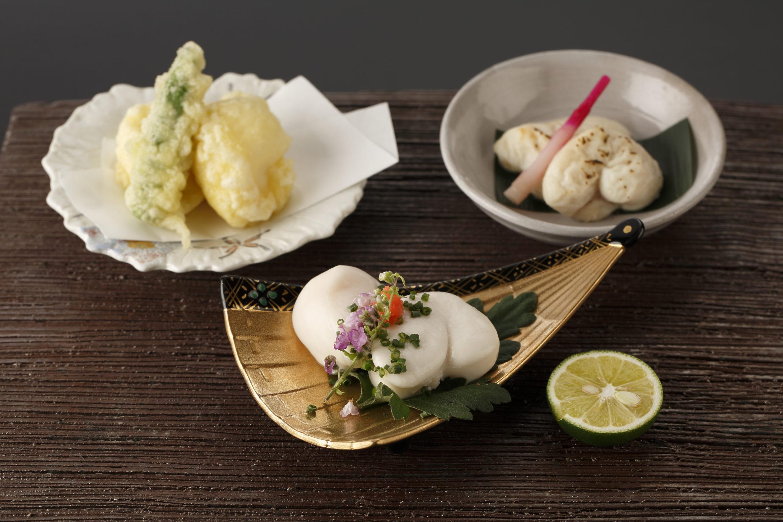 とらふぐ白子食べ比べセット(ポン酢/焼き/天ぷら)
